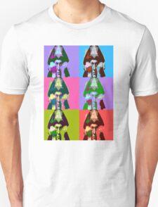 Aleister Crowley Pop Art Unisex T-Shirt