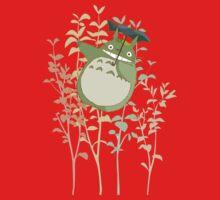 Totoro's flowers Kids Tee