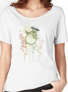 Totoro's flowers Women's Relaxed Fit T-Shirt