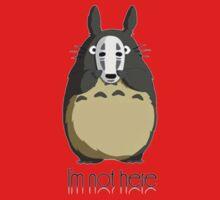 Totoro I'm not here Kids Tee