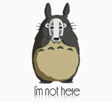 Totoro I'm not here Kids Tee
