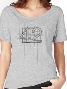 Hitchhiker's Guide to the Galaxy - 42 Women's Relaxed Fit T-Shirt