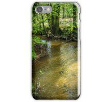 Peaceful stream scene iPhone Case/Skin