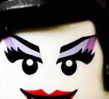 Lego Spider Lady minifigure Sticker