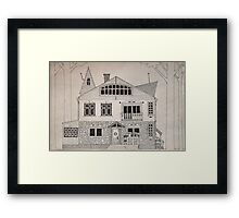 Witch house 2 Framed Print