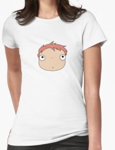 Ponyo Womens Fitted T-Shirt