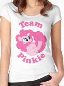 Team Pinkie Women's Fitted Scoop T-Shirt