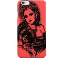 80s Punk Witch V01 - Black Edition  iPhone Case/Skin