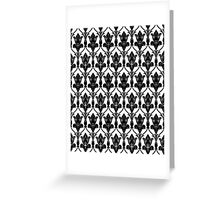 221b sherlock wallpaper Greeting Card