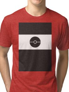 Pokemon CAMO Black Tri-blend T-Shirt