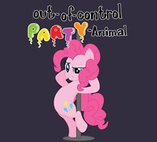 Out-of-control Party-Animal - with text Unisex T-Shirt
