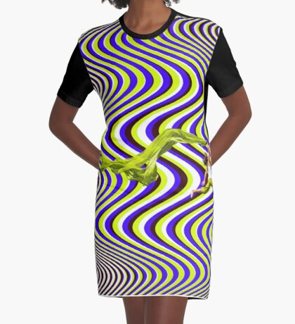 Wind Of Freedom Graphic T-Shirt Dress