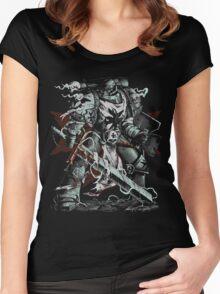 Black Templars Women's Fitted Scoop T-Shirt