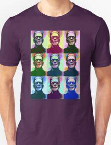 Frankenstein Pop Art Unisex T-Shirt