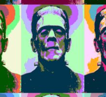 Frankenstein Pop Art Sticker