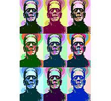 Frankenstein Pop Art Photographic Print