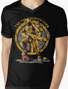 Fire Warrior Mens V-Neck T-Shirt
