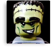 Lego Monster Rocker minifigure Canvas Print