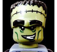 Lego Monster Rocker minifigure Photographic Print