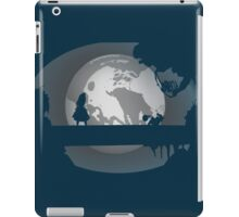 Alice and the Moon  iPad Case/Skin