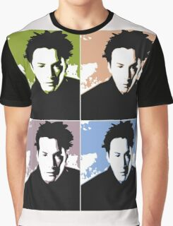 Keanu Reeves in the Matrix, 4 Colors Graphic T-Shirt
