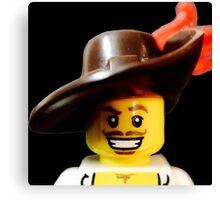Lego Swashbucker minifigure Canvas Print