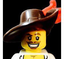 Lego Swashbucker minifigure Photographic Print