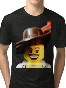 Lego Swashbucker minifigure Tri-blend T-Shirt