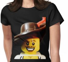 Lego Swashbucker minifigure Womens Fitted T-Shirt