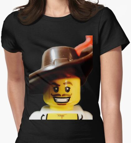 Lego Swashbucker minifigure Womens Fitted T-Shirt