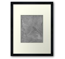 texture background. plasticine Framed Print