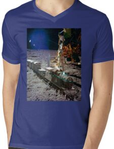 Moon Express Mens V-Neck T-Shirt