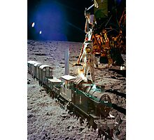 Moon Express Photographic Print