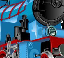 Cartoon Tank Engine Sticker