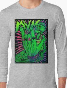 Poker Face Long Sleeve T-Shirt