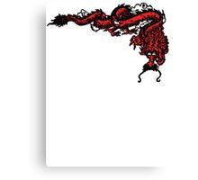 1970's Kung Fu Dragon  Canvas Print
