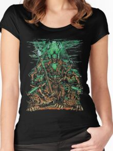Necron Overlord Women's Fitted Scoop T-Shirt
