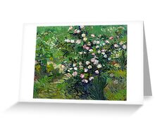 Vincent van Gogh Roses Greeting Card
