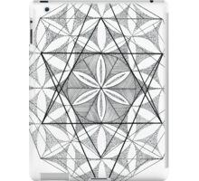 Flower of Life Sacred Geometry - Abstract iPad Case/Skin