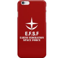 EFSF - WHITE iPhone Case/Skin