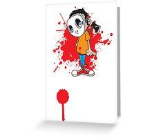 serial kid Greeting Card