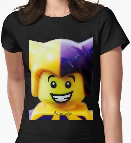 Lego Jester minifigure Womens Fitted T-Shirt