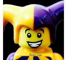Lego Jester minifigure Photographic Print
