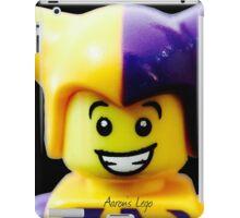 Lego Jester minifigure iPad Case/Skin
