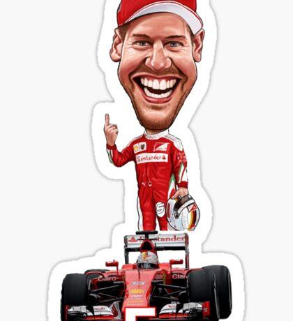 Sebastian Vettel  Sticker