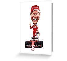 Sebastian Vettel  Greeting Card