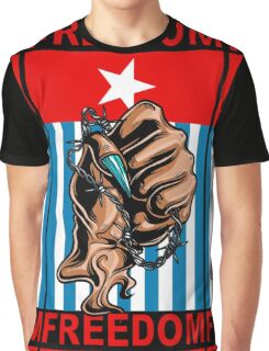 Freedom West Papua Morning Star Flag Graphic T-Shirt