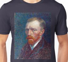 Vincent van Gogh Self-Portrait Unisex T-Shirt