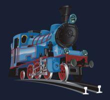 Cartoon Tank Engine Kids Tee