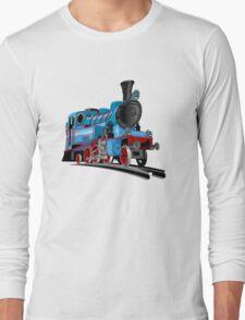 Cartoon Tank Engine Long Sleeve T-Shirt